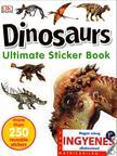 Dinosaurs matricavilág - angol nyelvű matricás foglalkoztató [nyári akció]