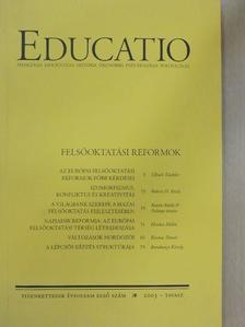 Barakonyi Károly - Educatio 2003. tavasz [antikvár]