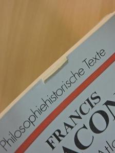 Francis Bacon - Neu-Atlantis [antikvár]