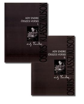 Ady Endre - ADY ENDRE ÖSSZES VERSEI I-II. - KARTONÁLT