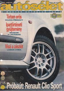 Fehér György - Autósélet 2000. január [antikvár]
