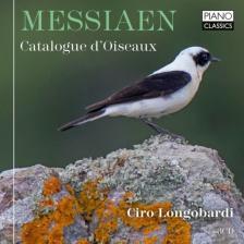 MESSIAEN - CATALOGUE D'OISEAUX 3CD CIRO LONGOBARDI