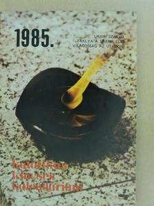 Béky Gellért - Katolikus Kincses Kalendárium 1985 [antikvár]