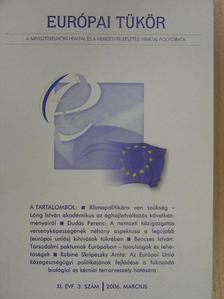 Baksay Gergely - Európai Tükör 2006. március [antikvár]
