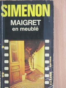 Georges Simenon - Maigret en meublé [antikvár]