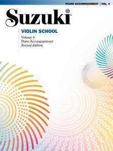 SUZUKI - SUZUKI VIOLIN SCHOOL PIANO ACCOMPANIMENTS VOLUME 4