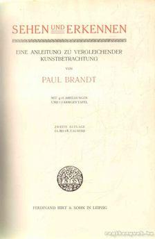 Brandt, Paul - Sehen und Erkennen [antikvár]