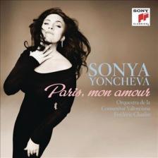 MASSENET, PUCCINI, GOUNOD, OFFENBACH - PARIS, MON AMOUR CD SONYA YONCHEVA