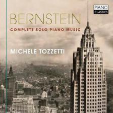 BERNSTEIN - COMPLETE SOLO PIANO MUSIC CD MICHELE TOZZETTI