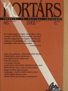 Benyovszky Krisztián - Kortárs 2002. június [antikvár]