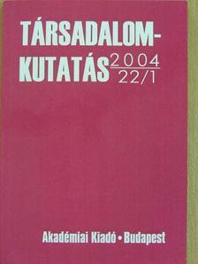 Bíró Gyula - Társadalomkutatás 2004/1. [antikvár]