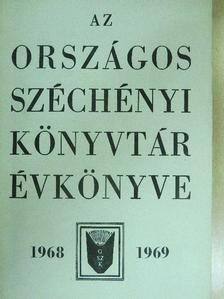 Batári Gyula - Az Országos Széchényi Könyvtár Évkönyve 1968-1969 [antikvár]