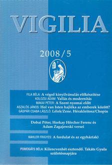 Lukács László - Vigilia 2008/5 [antikvár]