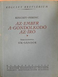 Sík Sándor - Kölcsey Ferenc [antikvár]