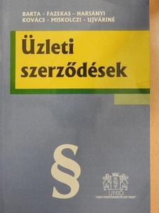 Barta Judit - Üzleti szerződések [antikvár]