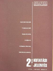 Dr. Verebics János - Kutatási jelentés 1999. július [antikvár]