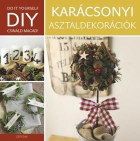 DIY: Karácsonyi asztaldekoráció