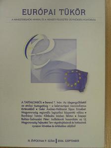 Berend T. Iván - Európai Tükör 2006. szeptember [antikvár]