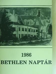 Csordás Gábor - Bethlen naptár 1986 [antikvár]