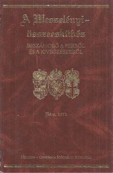 W. Salgó Ágnes, G. Etényi Nóra - A Wesselényi-összeesküvés [antikvár]