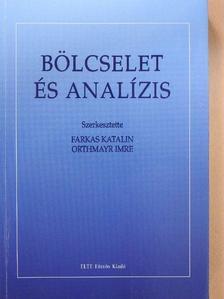 Ambrus Gergely - Bölcselet és analízis [antikvár]