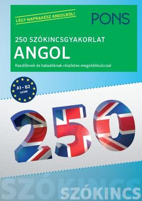 Birgit Piefke-Wagner - PONS 250 Szókincsgyakorlat Angol