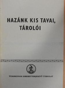 Dr. Fogarasi László - Hazánk kis tavai, tárolói [antikvár]