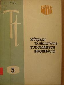 Dr. Balázs Sándor - Műszaki tájékoztatás - tudományos információ [antikvár]