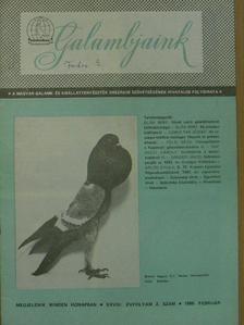 Czibulyás József - Galambjaink 1986. február [antikvár]
