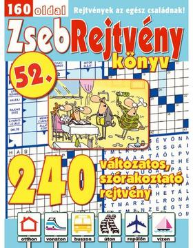 CsoSch Kft. - ZsebRejtvény Könyv 52.
