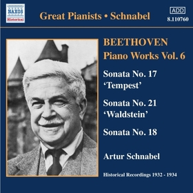 BEETHOVEN - PIANO WORKS,VOL.6 CD SCHNABEL