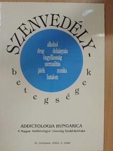 Bozsonyi Károly - Addictologia Hungarica 2001/2. [antikvár]