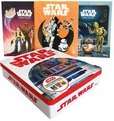 NINCS SZERZŐ - Star Wars - Asztrodoboz (benne: 2 mesekönyv és 1 színező)