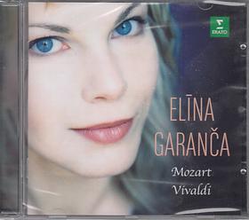 MOZART/VIVALDI - ELINA GARANCA CD