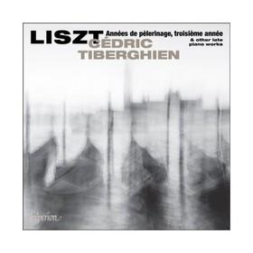 LISZT - ANNÉES DE PÉLERINAGE, TROISIÉME ANNÉE CD TIBERGHIEN