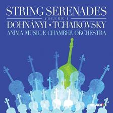 DOHNÁNYI, TCHAIKOVSKY - STRING SERENADES CD ANIMA MUSICAE CHAMBER ORCHESTRA