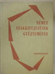 Frenyó Lajos - Német szakkifejezések gyűjteménye [antikvár]