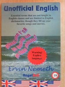 Ervin Nemeth - English Reader, Unofficial English [antikvár]