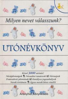 Pálfy Gyula - Utónévkönyv [antikvár]