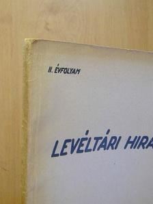 A. A. Silov - Levéltári Híradó 1952. április-június [antikvár]
