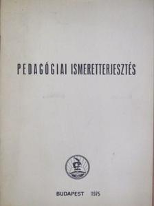 Falussy Béla - Pedagógiai ismeretterjesztés [antikvár]