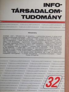 Enyedi György - Info-Társadalomtudomány 1995. május [antikvár]