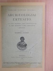 B. Mednyánszky Dénes - Archaeologiai Értesitő 1888. deczember 15. [antikvár]