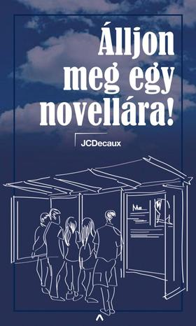 JCDecaux Hungary Zrt. - Álljon meg egy novellára! - mobilsztorik