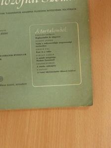Barlay László - Magyar Filozófiai Szemle 1969/4. [antikvár]