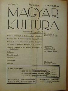 Dr. Takács József - Magyar Kultúra 1943. december 5. [antikvár]