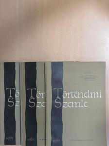Benda Kálmán - Történelmi szemle 1962/1-4. [antikvár]