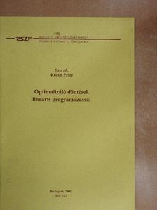 Kocsis Péter - Optimalizáló döntések lineáris programozással [antikvár]