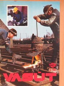 Bellik László - Vasút 1980. március [antikvár]
