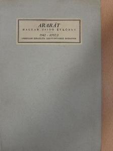 Balázs György - Ararát - Magyar zsidó évkönyv az 1942. évre [antikvár]